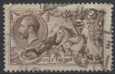 1913-18  SG413a  2s 6d Brown Seahorse  Used   Ref:4209