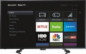 "SHARP 50"" LED ROKU SMART TV *NEW IN BOX*"