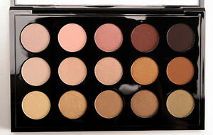 M.A.C  Eyeshadow x15: Warm Neutral Palette BNIB 100% Authentic- MAC
