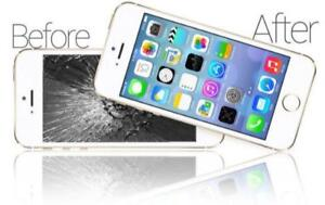 IPHONE6.S.6+,IPAD, IPOD SCREEN REPLACEMENT REPAIRS for a CHEAPER PRICE!