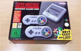 Super Nintendo SNES mini brand new