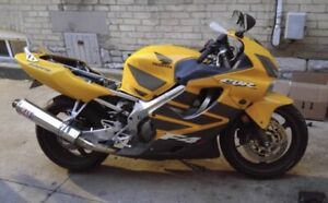 Honda Cbr 600 F4i New Used Motorcycles For Sale In Ontario From