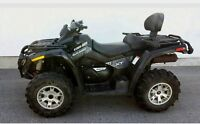 2009 CAN AM OUTLANDER MAX 650 XT *2 PASSAGERS!*