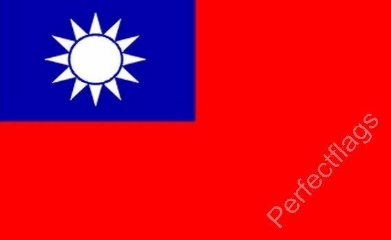 TAIWAN FLAG - TAIWANESE NATIONAL FLAGS - Hand, 3x2, 5x3 Feet