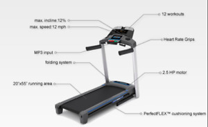 Get in shape, Excellent condition treadmill for sale