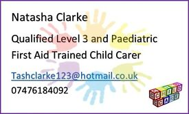 Caring and experienced Nanny and Childcarer