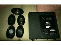 Kef hts1001 + pws200 sub home theater and cinema system