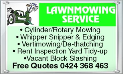 LAWN MOWING SERVICE Dianella Stirling Area Preview