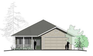 Show home in 55+ Bare land Strata development in Blind Bay, BC