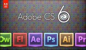 Adobe Master Collection CS6 incl. Photoshop / Illustrator / InDesign / Premier Pro Windows / Macbook