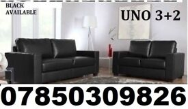 brand new 3 and 2 sofa in black or brown