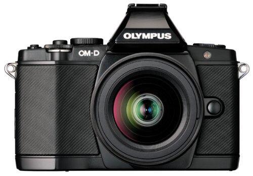 Olympus OM-D E-M5 16.1 MP Digital Camera - Black (Kit w/ 14-42mm Lens)