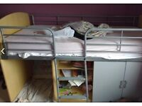 Mid Sleeper with Storage