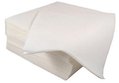 50 Luxury White Airlaid Napkins Quality Linen Feel