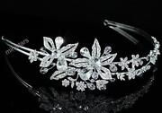 Wedding Tiara Swarovski Crystal