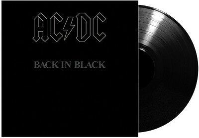 AC/DC - Back in Black [New Vinyl] 180 Gram, Germany - Import