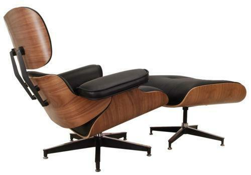 eames lounge chair and ottoman ebay. Black Bedroom Furniture Sets. Home Design Ideas