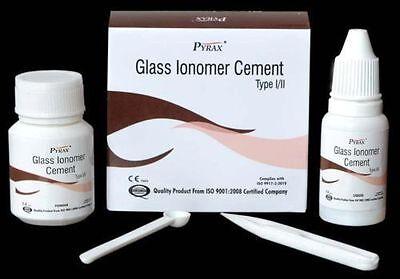 Permanent Glass Ionomer Polyalkenoate Luting Cement