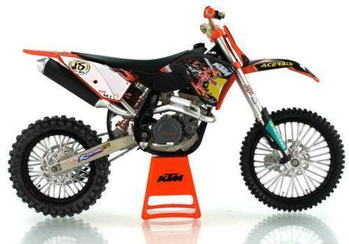 motorcycle ktm toy graffiti sx motocross scale figure vktoybuy orange