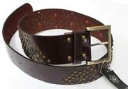 Womens Wide Leather Belt