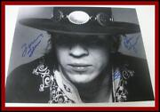 Stevie Ray Vaughan Signed