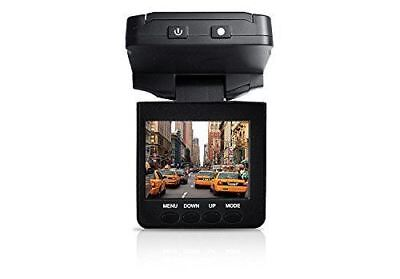 Coby DCS-404 2.5-Inch Swivel Screen 1080p Car Dash Cam and D