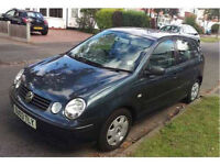 VW Volkswagen Polo 2003 - 1.2s Metallic Grey - 5 Door a/c