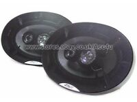 "Mutant M Series 360w 6x9"" 3-Way Coaxial Car Shelf Speakers"