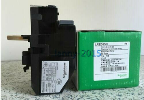 1pc Brand New Schneider Thermal Overload Relay Lre365n 80-104a
