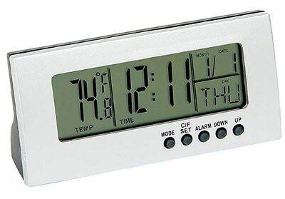 Mitaki-Japan Digital Alarm Clock Day Month Year Calendar Timer Temp ELCLOCK
