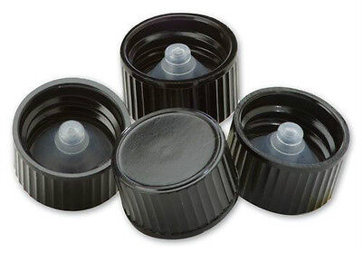 Polyseal Black Phenolic Cone Lined Caps Lot Of 50 You Choose Cap Size