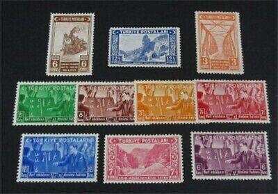 nystamps Turkey Stamp # 799//832 Mint OG H $33   L23y1214