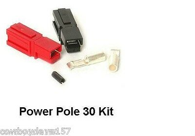Anderson Powerpole Sermos 30 Amp Kit Power Pole 10 Pairs Includes Roll Pin
