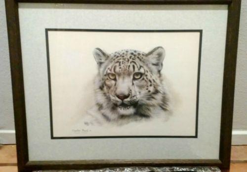 Charles Frace Snow Leopard Ebay