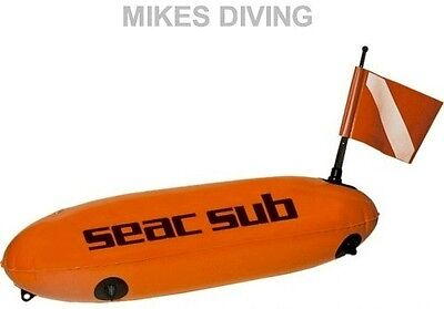 SEAC TORPEDO divers marker Diving spearfishing SMB BUOY