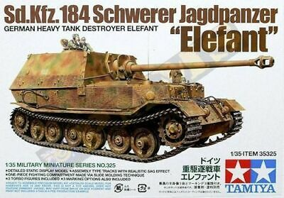 TAMIYA 35325 Elefant Sd.Kfz. 184 Tank 1/35 THE TIGER COLLECTION