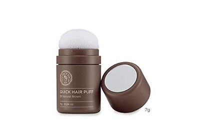 The Face Shop Quick Hair Puff Hair Line Touch Waterproof 7g(0.24oz) (Dark Brown)