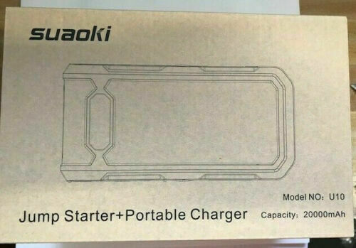 Suaoki P6 U10 400A 800A 2000A Peak Portable Car Jump Starter