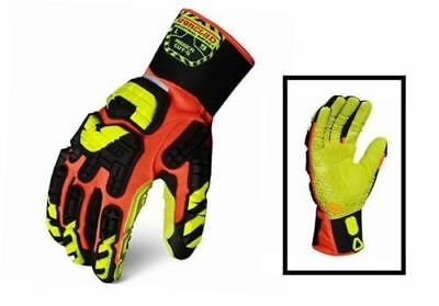 Ironclad Industrial Impact Rigger Cut 5 Gloves New