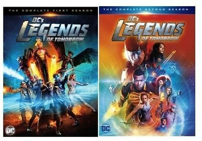 Dcs Legends Of Tomorrow Complete Season 1   2  Dvd Set