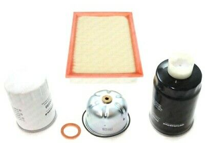LAND ROVER DEFENDER & DISCOVERY 2 TD5 - SERVICE KIT, OIL, AIR & FUEL FILTERS