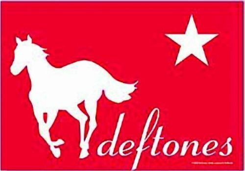 DEFTONES - RED PONY - FABRIC POSTER - 30x40 WALL HANGING - HFL0284