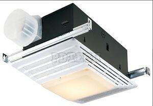 Bathroom Ceiling Fan Heater Light Room Bath Filter Vent ...