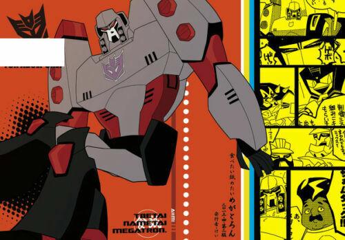 "Transformers Yaoi  Doujinshi ""tabetai nametai megatron"" kei (circle kei)"