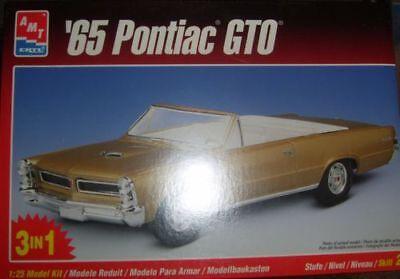 AMT ERTL 8201,1:25,'65 Pontiac GTO,Autobausatz