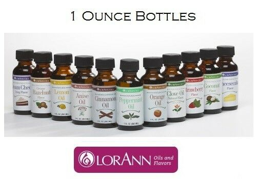 LorAnn 1 oz Super Strength Flavoring Oils Flavor Extract Can