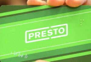 presto  card with $300 in it for cheap