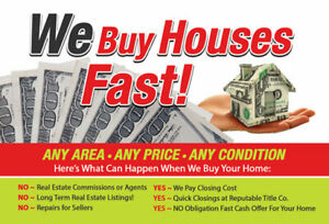 WE BUY HOUSE FAST