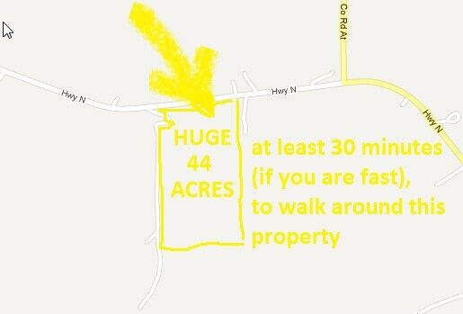 Mineral Rights On 44 Acres OF Land In Missouri, RARE 10 DAY NO RESERVE  - $1,025.00
