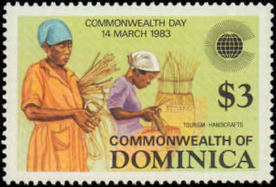 Dominica #796-799, Complete Set(4), Never Hinged